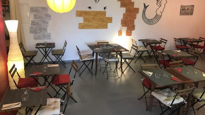 La salle - Chez Eve Restaurant BIOn, Aix-en-Provence
