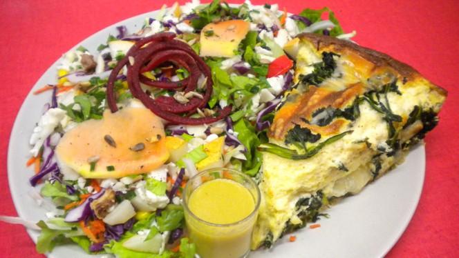 Tarte aux légumes - Chez Eve Restaurant BIOn, Aix-en-Provence