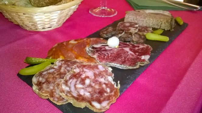 Assiette de charcuterie - Chez Eve Restaurant BIOn, Aix-en-Provence