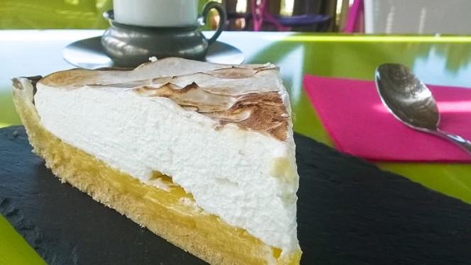 Tarte au citron meringuée - Chez Eve Restaurant BIOn, Aix-en-Provence