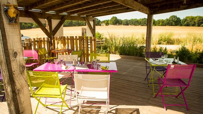 Terrasse - Chez Eve Restaurant BIOn, Aix-en-Provence