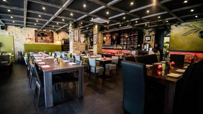 restaurantzaal - Restaurant Olijfje, Amsterdam