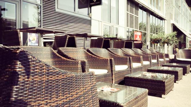 vue détail terrasse - Bar Windy Lounge, Lyon