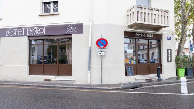 Vue devanture - L'Esprit Bistrot Monplaisir, Lyon