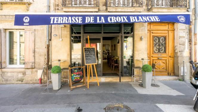 Entrée - Terrasse de la Croix Blanche, Bordeaux