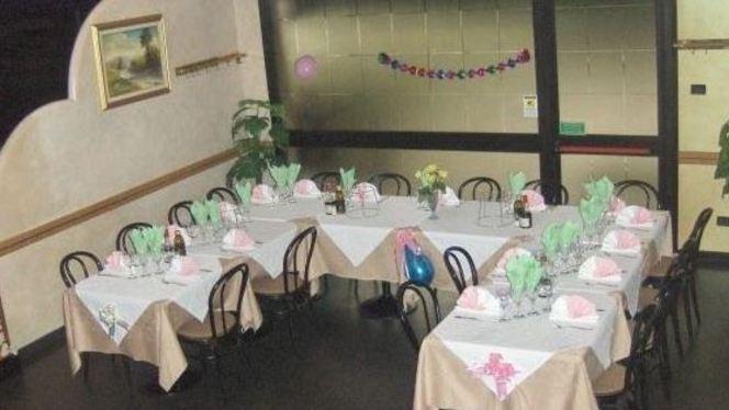 Sala interna organizzata per feste - Altamarea, Cinisello Balsamo