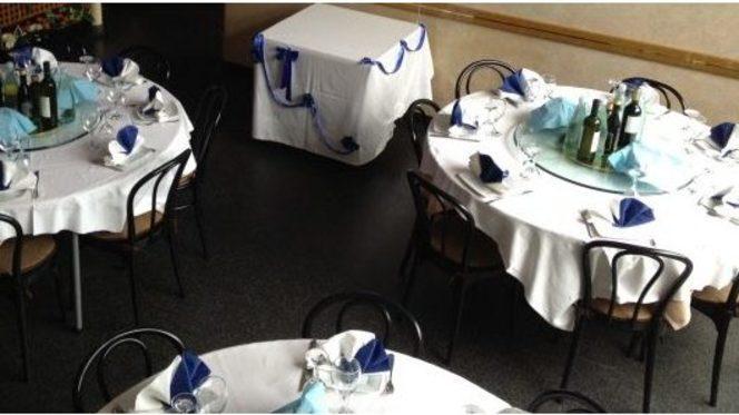 Tavoli della sala interna - Altamarea, Cinisello Balsamo
