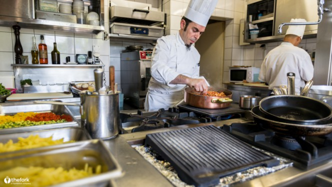 Cuisine - Restaurant Du Vieux Port - Les Successeurs de Jolidon, Versoix