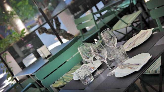mesa montada - Bardot, Barcelona