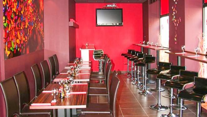 Salle du restaurant - Sushi & Sushis, Lyon