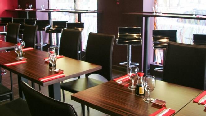 Vue des tables - Sushi & Sushis, Lyon