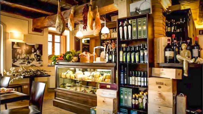 Il locale Pizzeria con Cucina - Spirito Divino, Bevagna
