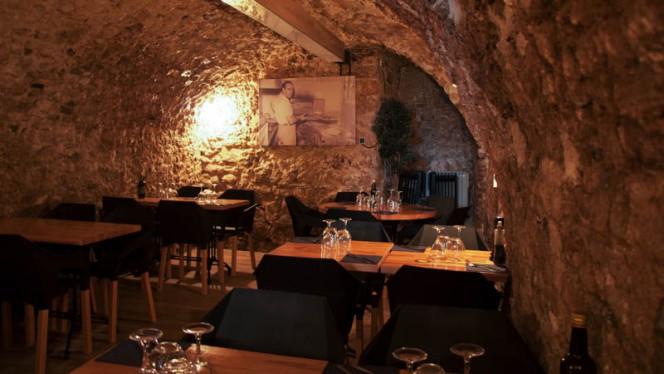 Vue de la salle - Da Vito Aix en Provence, Aix-en-Provence