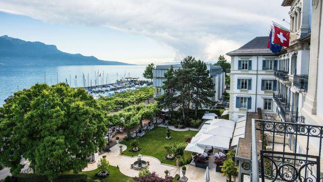 Vue - Grand Hôtel du Lac - La Veranda, Vevey