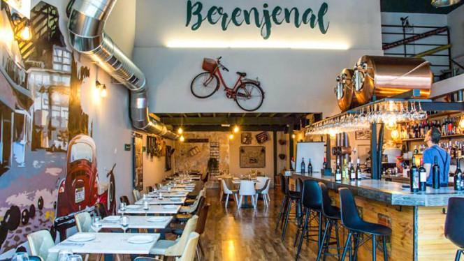 Vista sala - Berenjenal, Las Rozas