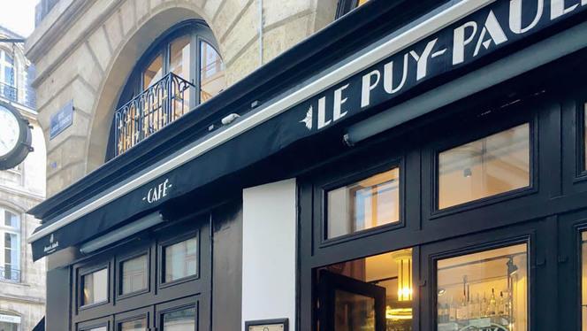 Devanture - Le Puy Paulin, Bordeaux