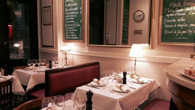 La salle au dîner - Le Puy Paulin, Bordeaux