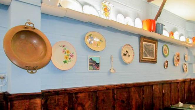 Detalhe de decoração - Taberna Típica O Nazareno, Porto