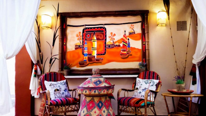 lounge esterna - Sahara, Rome