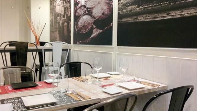 Vista sala - DeCé & Cook, Madrid