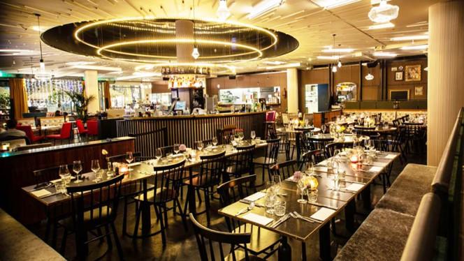 Het restaurant - Het Groene Paleis, Amsterdam