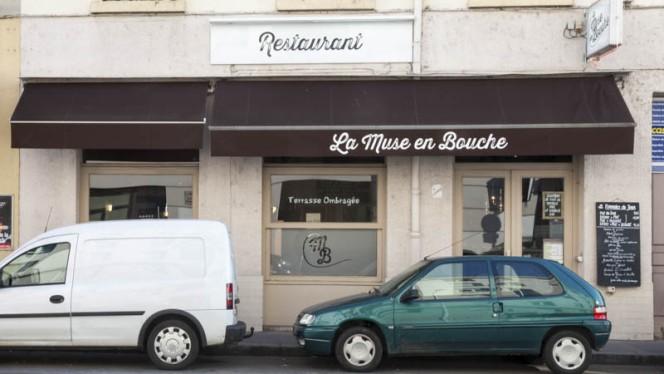 façade - La Muse en Bouche, Lyon
