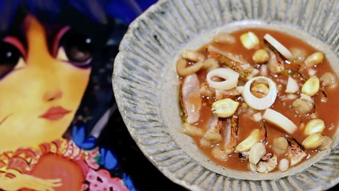 Sugerencia del chef - La Barra Peruana de Vuelve Carolina by Quique Dacosta, Valencia