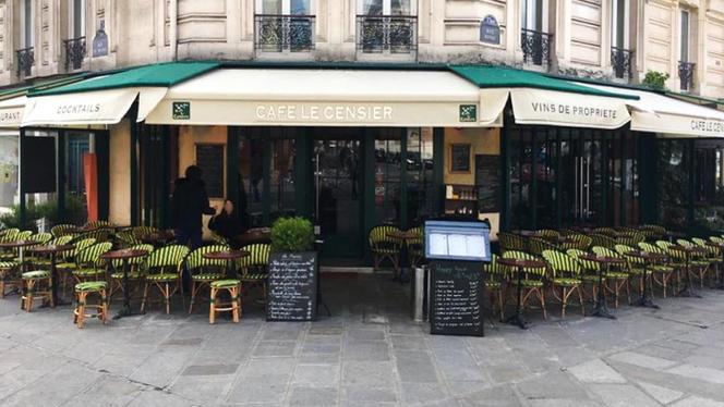 Terrasse - Le Café Censier, Paris