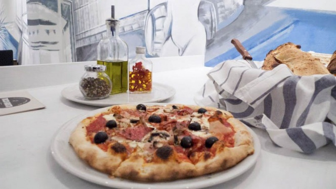 Pizza - Il Tocco Giusto Da Luigi, Madrid