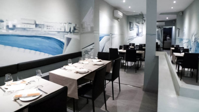 Vista sala - Il Tocco Giusto Da Luigi, Madrid