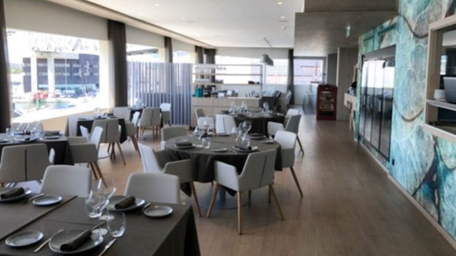 Vista del interior - GO Restaurant, Barcelona