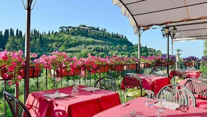 Terrazza con vista su Montepulciano - Il Covo, Montepulciano