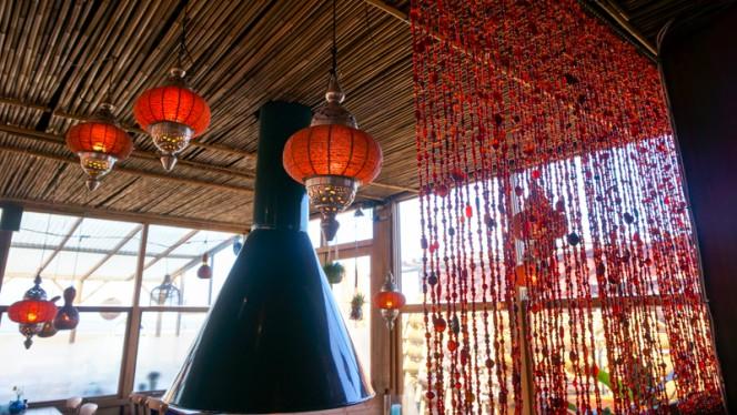 Decoratie - Strandpaviljoen Bora Bora, Den Haag