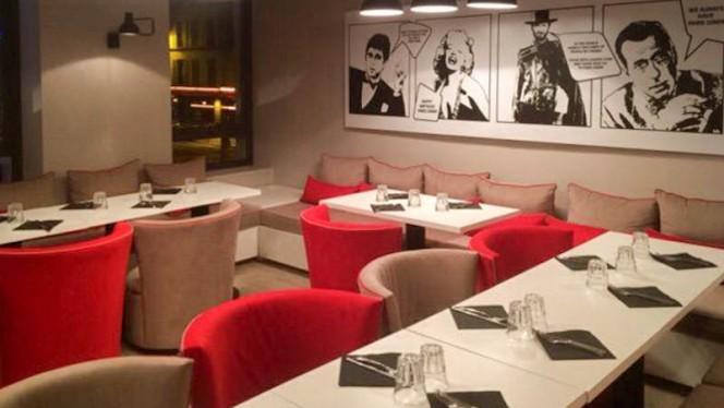 Vue de la salle - The Paris Diner, Paris