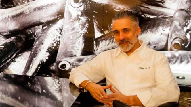 Chef Sergi Arola - Vi-Cool Lagasca, Madrid