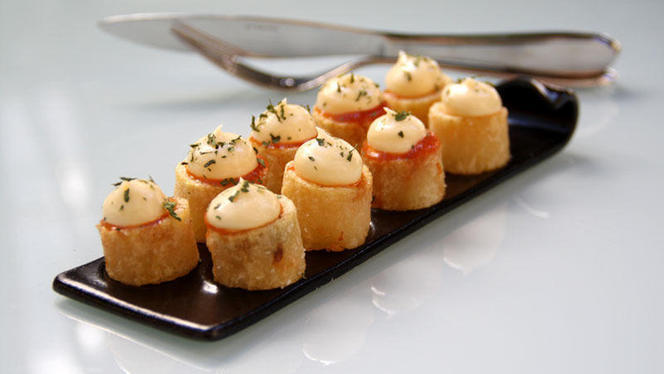 Patata brava de Arola - Vi-Cool Lagasca, Madrid