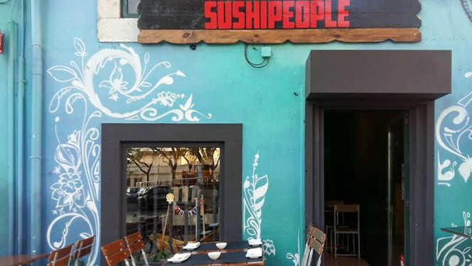 Entrada - Sushi People, Lisboa