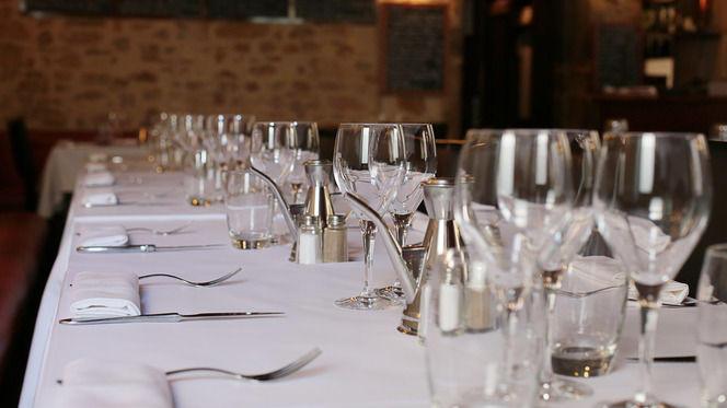 Tables dressées - Momento Sapori e Vini, Lyon