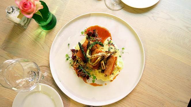 Pork confit with local meat - Nalen Restaurang, Stockholm