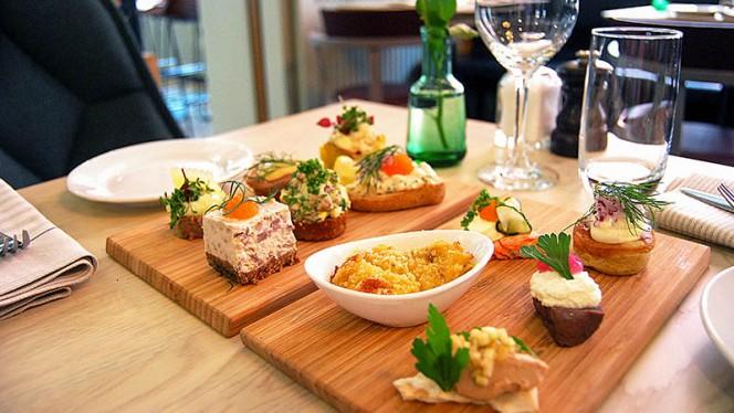 Smörgåsbord dishes - Nalen Restaurang, Stockholm