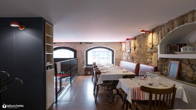 Salle du restaurant - Le Bouchon Sully, Lyon-6E-Arrondissement
