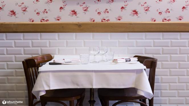 Table dressée - Le Bouchon Sully, Lyon-6E-Arrondissement