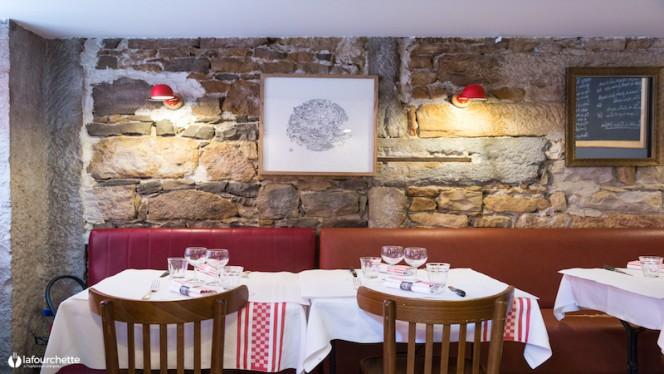 Vue des tables - Le Bouchon Sully, Lyon-6E-Arrondissement