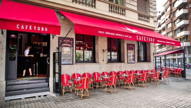 vista fachada - Café Turó, Barcelona