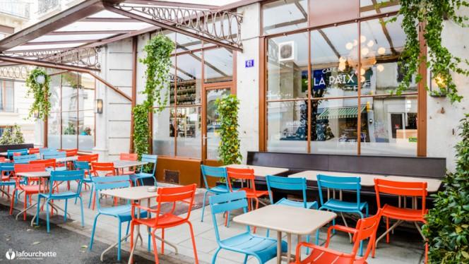 Terrasse - Café de la Paix, Genève