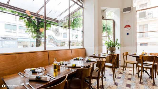 Vue de la salle - Café de la Paix, Genève