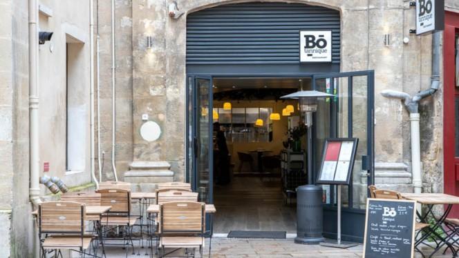 Entrée - Bo-Tannique, Bordeaux