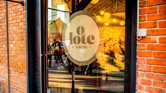 Entrada - O Lote, Lisboa