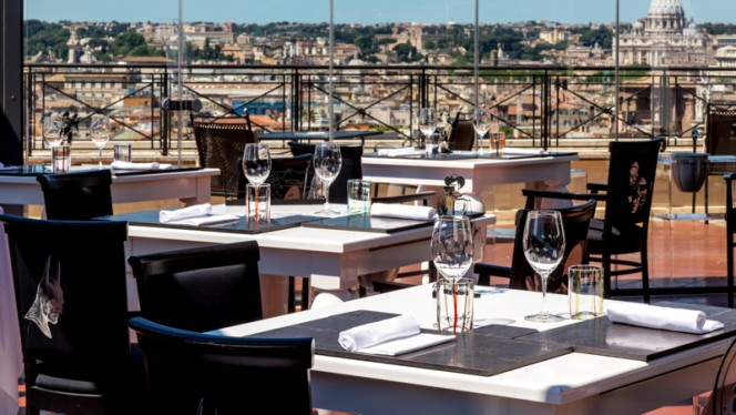 Terrazza - The Flair - Rooftop Restaurant, Rome