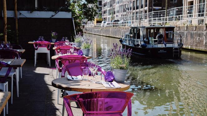 Kom lekker genieten aan het water in de zon. - Restaurant Blij, Utrecht